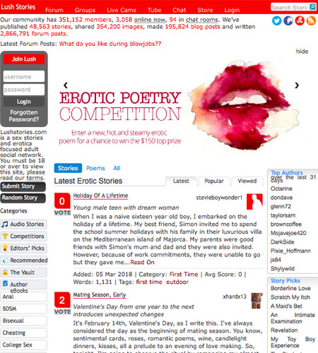 Best erotic story sites